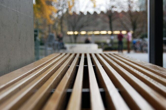 Bank im Super-C