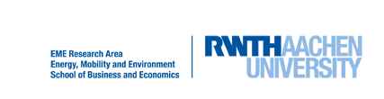 Logo der Research Area Energy, Mobility and Environment