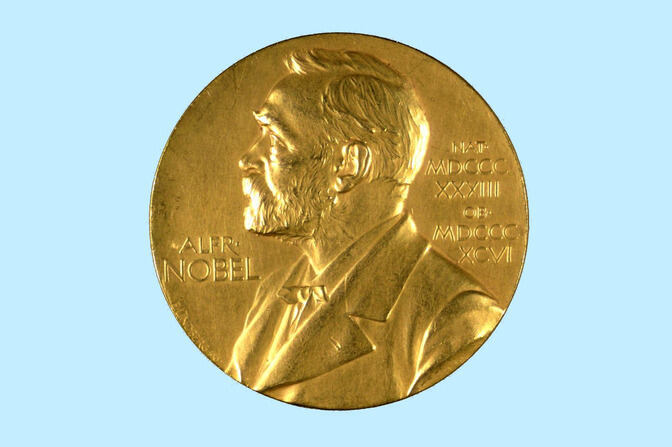 Nobel prize medal ®© The Nobel Foundation
