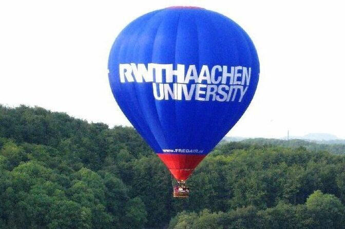 RWTH Aachen hot air balloon